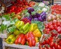 Vegetables Market.