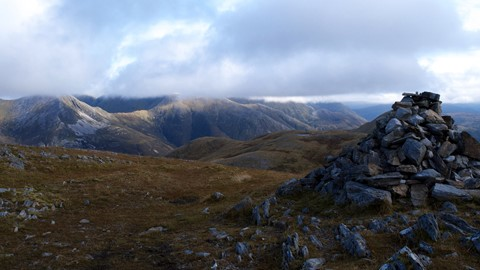Mist on the Mamores