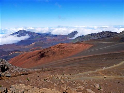 Haleakala Volcano, Maui, HI