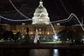 US Capitol Light Trails