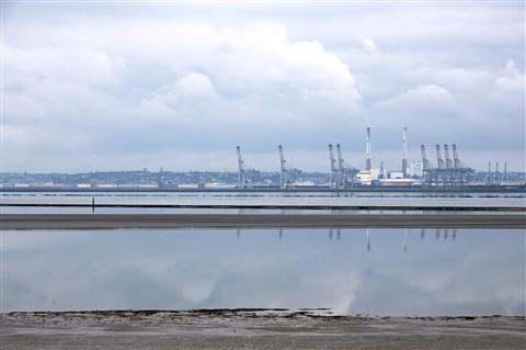 Industrial landscape...