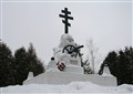 Memorial to the Heroes of the Patriotic war of 1812. Maloyaroslavets. Russia