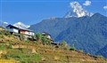 On the way to Ghandruk