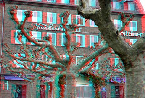 Burgplatz Dusseldorf 3D
