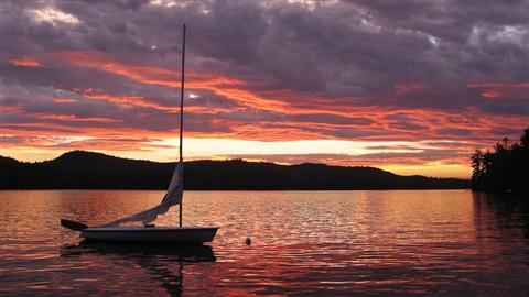 Brookfield Sunset, 7-4-10 155small