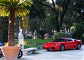 Villa Borghese Park + Ferrari = The Italian way