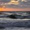 Sunset on Sylt (North Sea)