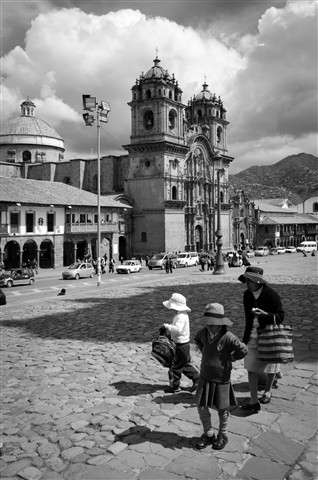Cuzco central plaza