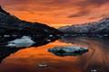 Sunrise in the Arctic