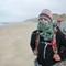 2015-10-14 New Zealand Te Araroa 1348 Ninety Mile Beach Joanne