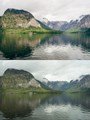 Hallstätter See, Upper Austria, Austria