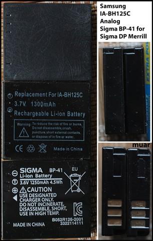 Samsung IA-BH125C=Sigma BP-41