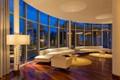 Lobby of the Seacoast Towers in Miami Beach
