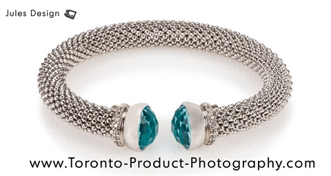 Toronto Bracelet Product Photography