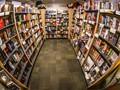 A peaceful corner of a bookstore