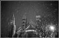 Snowdrift in Maastricht