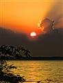 Angry Thunderhead Growls at the Sun