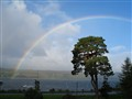 Rainbow over Gare Loch