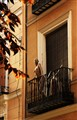 maniqui en balcon