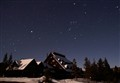 Orion over the Old Faithful Inn