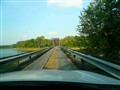 The toll bridge that was formerly a RR bridge.