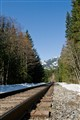 Railway Tracks south of Whistler BC