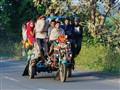 Motorcycle Rikhshaw