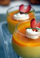 Our guests were delighted with the texture and taste of this homemade mango mousse :)