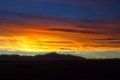 Pikes Peak Sunset-Pinhole