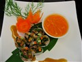Thai Spring Rolls with Roast Duck, & Tamarind Sauce
