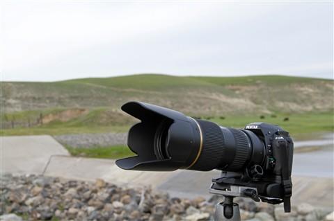 Pentax K-5+D-BG4 with Tamron 70-200mm f/2.8 Di LD (IF) Macro AF Lens