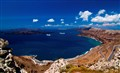 blue and white of greece - santorini