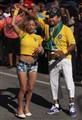 Brazilian Soccer Fans.