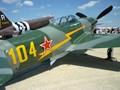 Russian Yak 9 Fighter