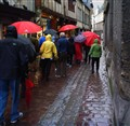 Umbrellas of Rouen