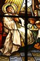 Stained glass in the church of St. George