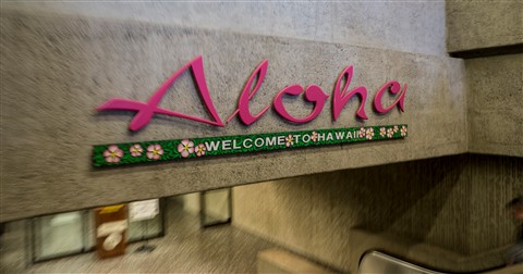 Aloha at the Airport