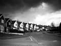 Bramcote, Nottingham, UK in a Cloudy Day