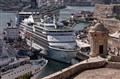 Cruise Ships in Valetta