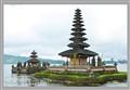 Pavilion on a lake at Bali