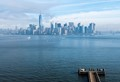 NEW York City as see from Liberty Island