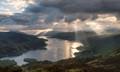 Sunbeams on Loch Katrine