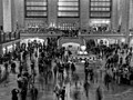 I wanted to capture the movement of people through this busy station concourse.