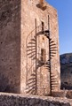 Watchtower staircase, Murcia