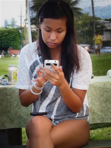 Smart Phone Girl
