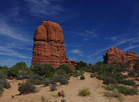 Arches Natural Rock Formations