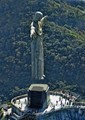 Christ the Redeemer rising from his plinth