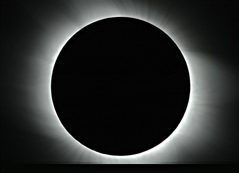 Totality of march 28, 2006 from Agypt