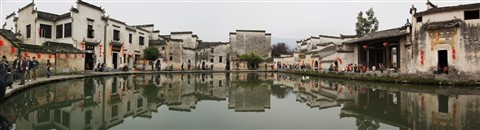 Inside Hongcun - An ancient Chinese village in China