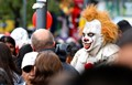 CLOWNING AROUND IN THE CROWD